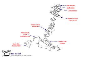 keen corvette 1969 corvette forward shift console parts parts accessories