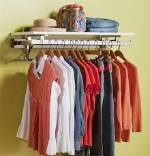 wardrobe racks marvellous wall mounted clothing rack wall mounted