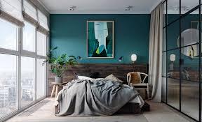 chambre bleu et bleu canard dans votre chambre à coucher voici comment l intégrer