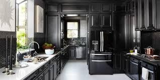 black kitchen decorating ideas marvelous 12 black kitchens cabinet and backsplash ideas kitchen