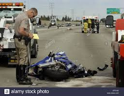 Chp Log by A Chp Officer Works At The Crash While Behind A Motorcyclist Is