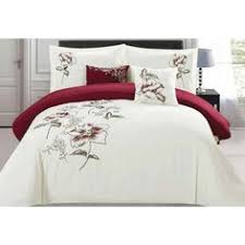 Dahlia 5 Piece Comforter And by Hotel Black White Purple Embroidered Egyptian Cotton Duvet Cover