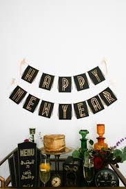 diy roaring u002720s birthday or new years eve party banner salty