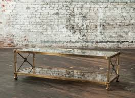 Brass Glass Coffee Table Coffee Table Tables Design Fabulous Large Antique Brass Regarding
