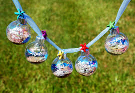 decorate your beach themed christmas tree with ornament garland