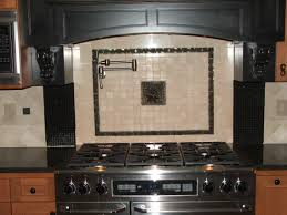Diy Tile Kitchen Backsplash by Furniture Grey Stone Kitchen Backsplash Connected By Stainless