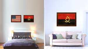 texture home decor angola country texture flag rustic vintage giclée print home decor