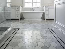 diy simple bathroom floor tiles installment