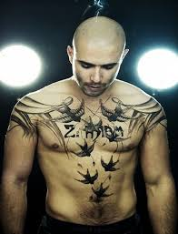 small chest ideas small chest tattoos for small chest