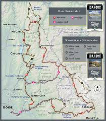 Trans America Trail Map by Idaho Springs Mountain Bike Route Maps Garden Valley Chamber