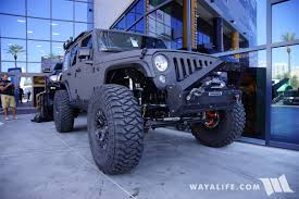 jeep rhino color 2017 sema black rhino heavy metal jeep jk wrangler unlimited
