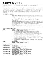 Sample Resume Objectives For Social Services by Autism Resume Resume For Your Job Application