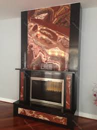 val d red onyx fireplace design granix marble u0026 granite inc