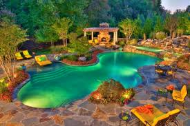 bedroom handsome backyard landscaping ideas swimming pool design