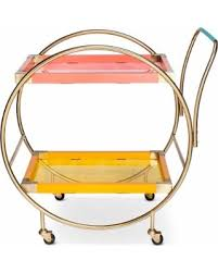 oh joy oh joy for don u0027t miss this deal oh joy circular bar cart bright gold