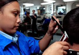 ronald reagan haircut file us navy 050728 n 4133b 121 ship s serviceman 3rd class