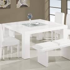 white square kitchen table global usa lony square dining table in white walmart com