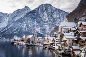 hallstatt in winter austria s most spectacular lakeside town