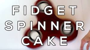 a fidget spinner cake that actually spins triplem network