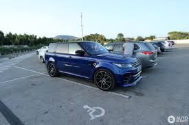 land rover overfinch land rover range rover overfinch gt svr 3 august 2017 autogespot
