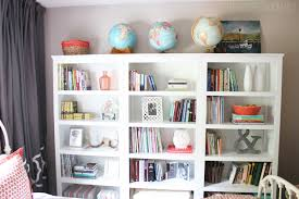 Threshold Carson 5 Shelf Bookcase White Our Cozy New Guest Room U0026 Home Library With Three Target Threshold