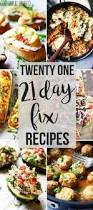21 day fix meal plan week 1 meal plan color coded to make the