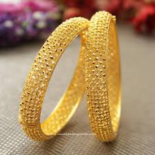 bracelet gold patterns images Big broad gold bangles from manubhai jewellers pinterest gold jpg