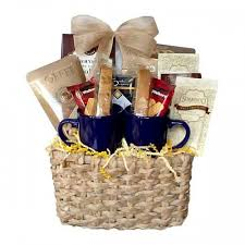 coffee and tea gift baskets cocoa and tea gift basket
