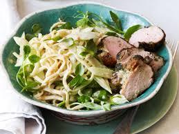 peanut noodle salad with cucumber and roast pork recipe spike