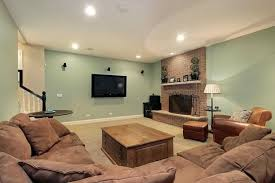 color schemes for family room choosing the right basement paint colors ideas with family room