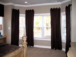 uncategorized windows double windows decorating curtains for bay