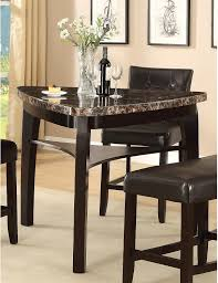 Wooden Dining Table With Marble Top The Brick Dining Room Furniture Moncler Factory Outlets Com