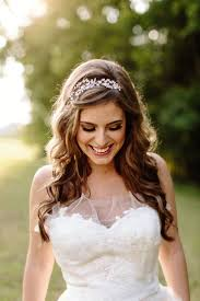 beautiful bridal headpieces with curly hairs hairzstyle com