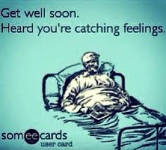 Catching Feelings Meme - lol i always warn um not to get addicted don t catch feelings