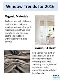 style guide for window blinds this window trends for 2016 organic