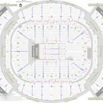 American Airlines Floor Plan Louisville Athletics Bowl Central Allstate Arena Floor Plan Crtable