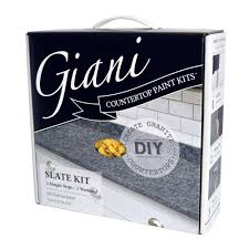 slate countertop giani granite slate countertop paint kit fg gi slate the home depot