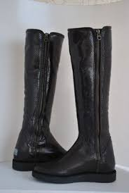 ugg boots in womens size 12 ugg butte metal leather boots 5521 u s size 12 uk 11 uggaustralia