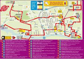 Bus Map Glasgow Hop On Hop Off Bus Map Glasgow Hop On Hop Off Map