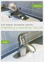 before and after our budget bathroom update how to upgrade your