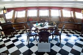 Victory Interior Design Nelson U0027s Flagship Hms Victory To Show Its Original Colours Daily