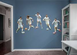 real madrid collection wall decal set shop fathead for real real madrid collection fathead wall decal