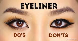 to apply eyeliner perfectly based on your eye shape