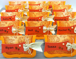 and thanksgiving place cards