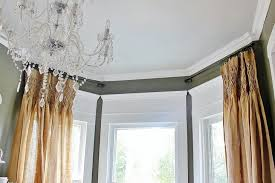 Curtain Crown Molding What About That Space The Window Window Moldings And