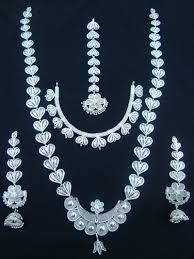 silver filigree odissi ornaments jewellery collection
