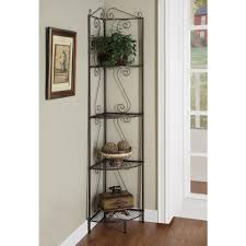 Corner Bookcase With Doors by Monarch Specialties Copper Corner Open Bookcase I 2100 The Home