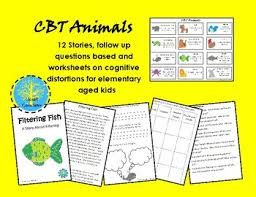 cbt animals stories and worksheets to teach children about
