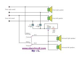 cheap surround sound system circuit diagram u2013 electronic projects