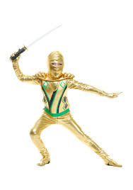 ninja halloween costume kids toddler gold ninja avengers series iii costume halloween costume